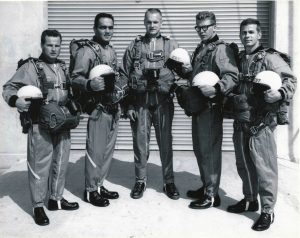 Original Navy Leap Frog Parachute Team 1963