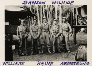 Bill Dawson NCDU 1943 New Guinea