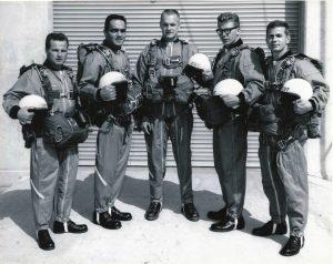 Original Navy Leap Frog Parachute Team 1963