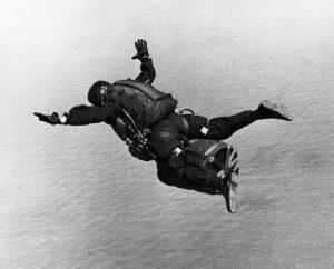 SEAL Freefall with SADM portable nuclear bomb