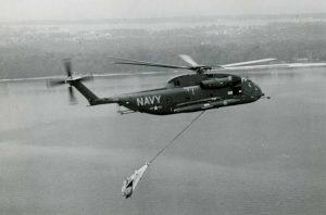 SDV helicopter transport